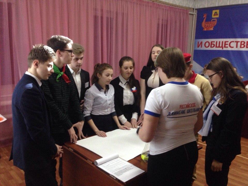 Муниципальный этап регионального конкурса лидеров и руководителей молодежных и детских общественных объединений «Лидер XXI века»