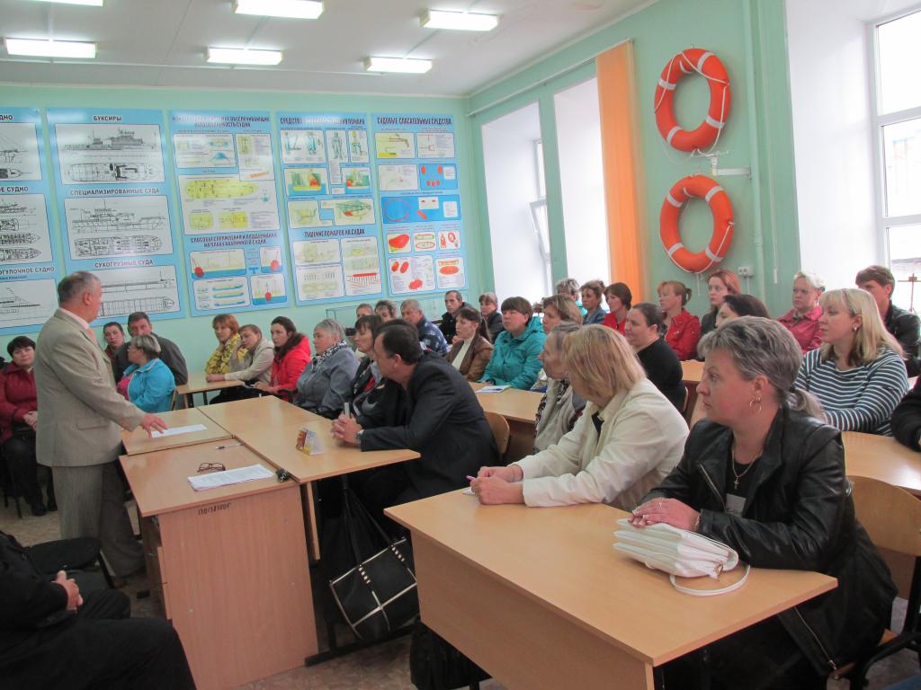 Родительское собрание в Касимовском техникуме водного транспорта