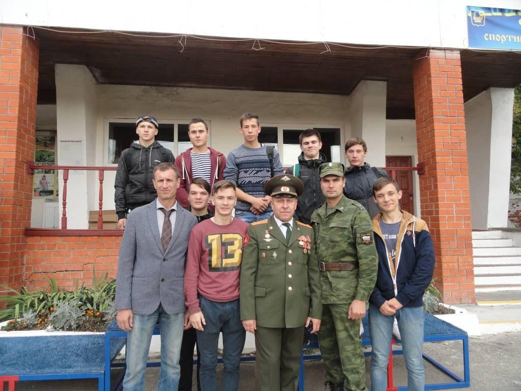 """Межрайонные соревнования """" В Армии служить почетно!"""""""