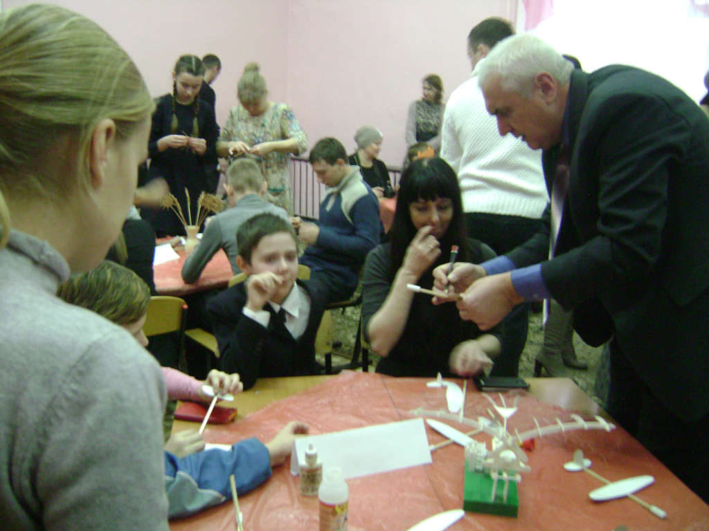 Мастер-класс для детей-инвалидов и детей с ограниченными возможностями здоровья