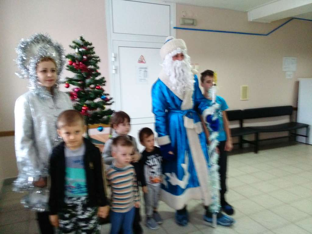 Городская акция «Радость рождества»