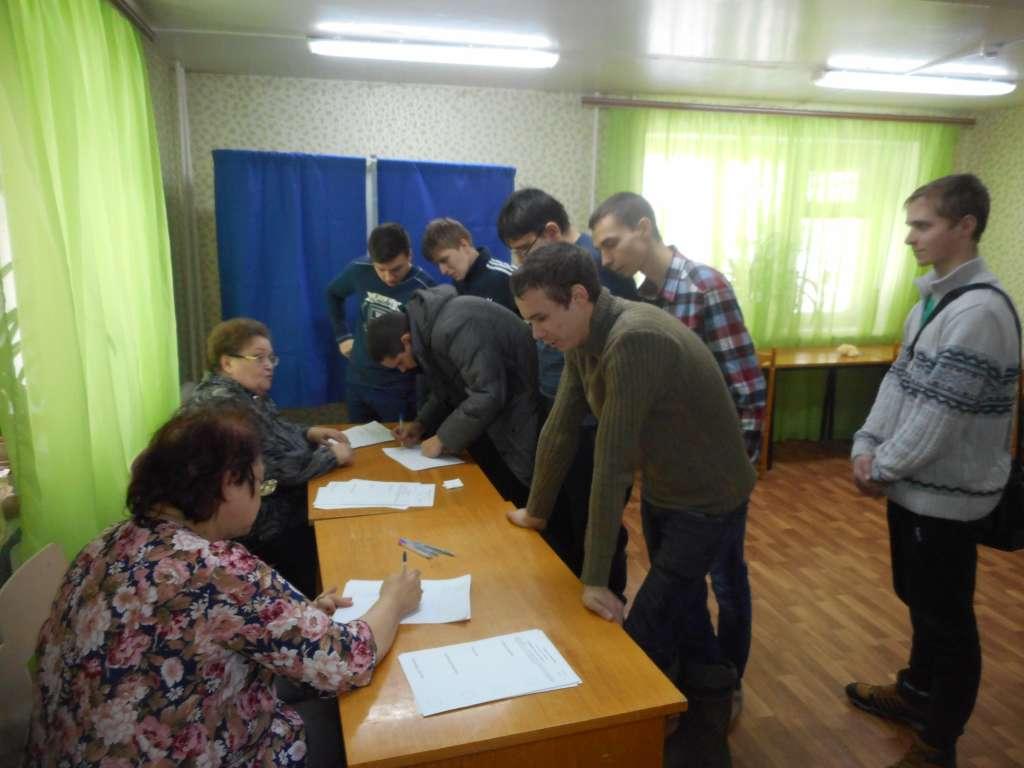 """День молодого избирателя. Правовой час """"Молодежь и выборы"""""""