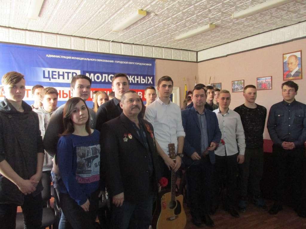 Студенты посетили Центр молодежных и общественных инициатив г. Касимова