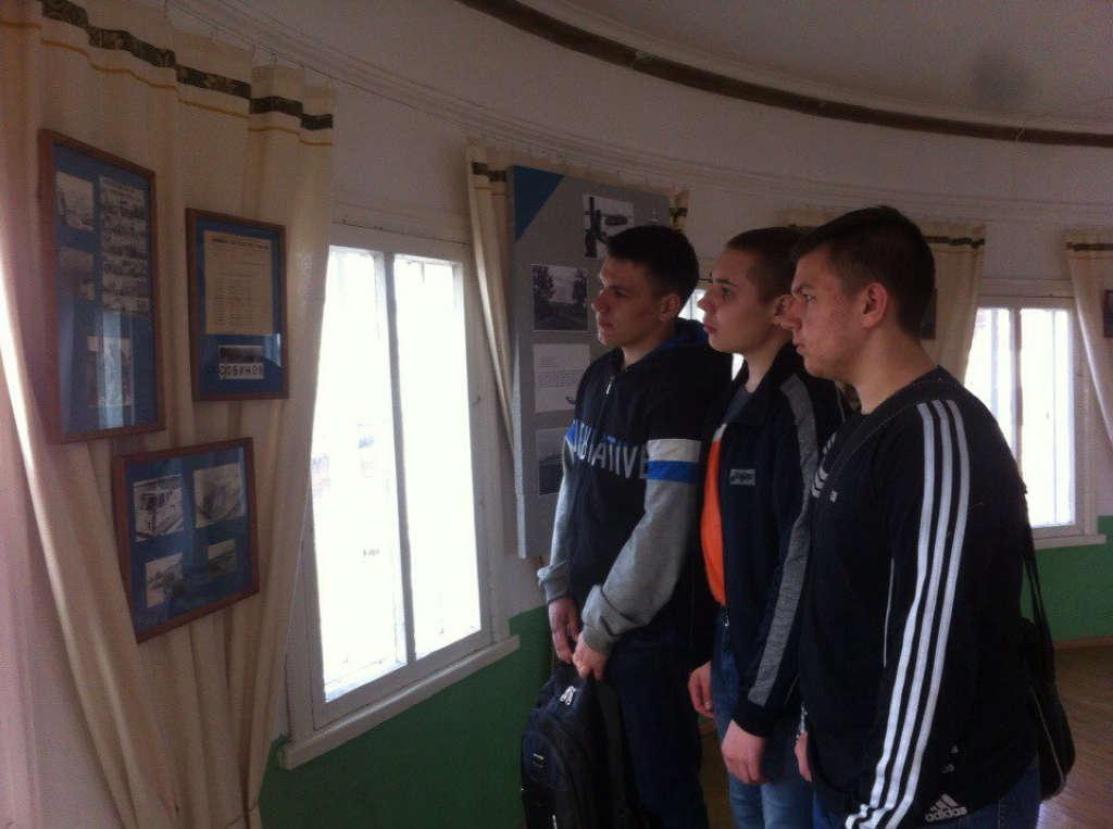 Выставка, посвященная истории создания речного флота