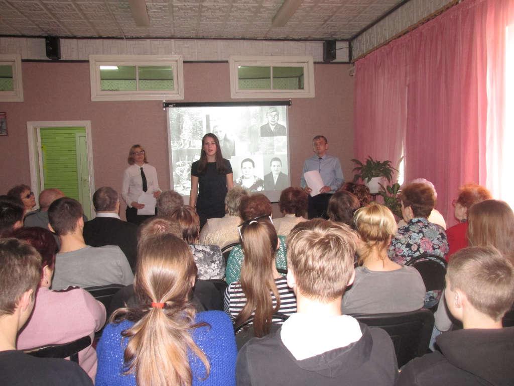 Праздничная встреча студентов техникума водного транспорта и членов общественной организации инвалидов