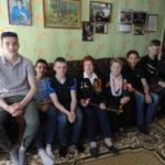 Студенты группы 16ТС посетили ветеранов ВОВ