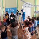 """Студенты поздравили малышей детского сада """"Ласточка"""""""