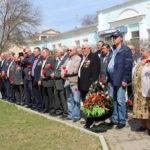 Митинг, посвящённом жертвам катастрофы на Чернобыльской атомной электростанции