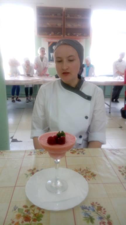 «Приготовление сложных холодных и горячих десертов»