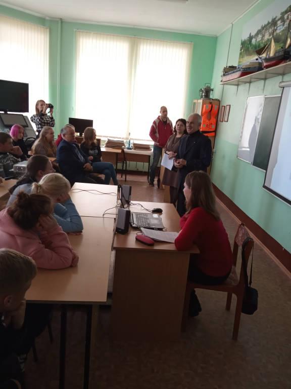 Встреча Герасимова Е.Ю. со студентами ОГБПОУ «Касимовский техникум водного транспорта»