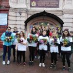 1 октября волонтёры ДМО «Просто так» поздравили жителей города Касимова с Днём пожилого человека.