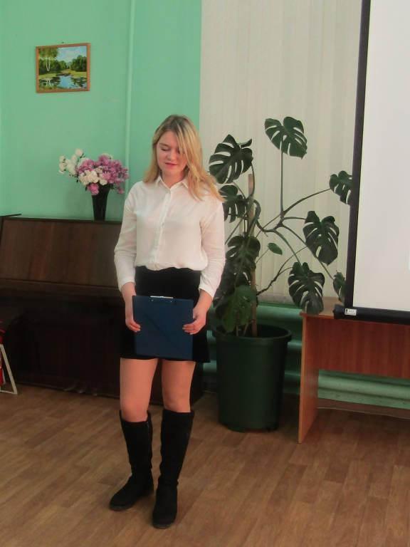 Вечер встречи посвященный 95-летию со дня рождения Н. А. Новикова.
