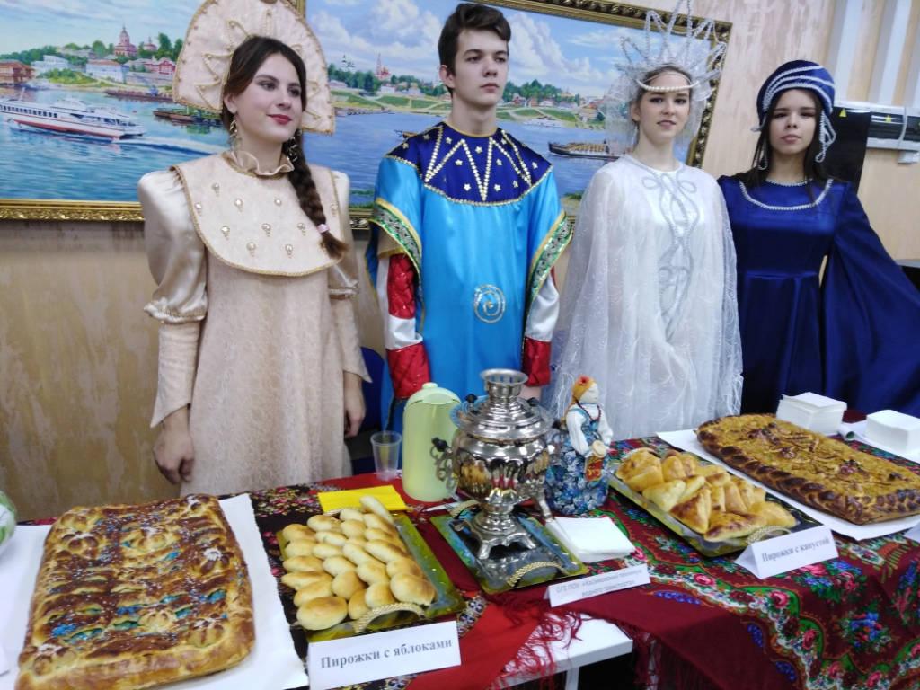 Касимовский техникум водного транспорта принял участие в III Областном Фестивале национальных культур «Касимов объединяет».