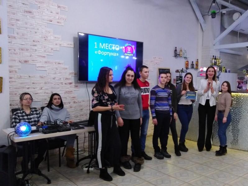 Праздник, посвящённый Дню российского студенчества.
