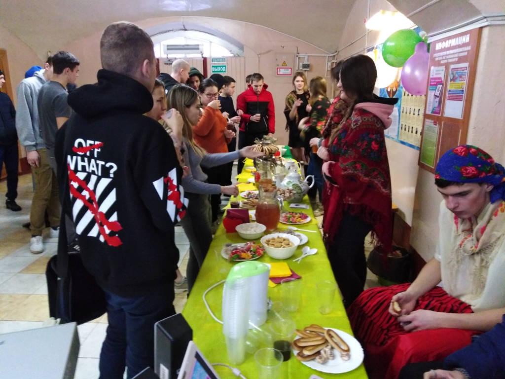 Праздник «День студента».