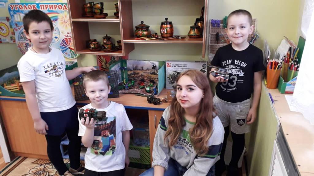 Волонтёры отряда «Солнце» были в гостях у воспитанников детского сада «Ласточка»