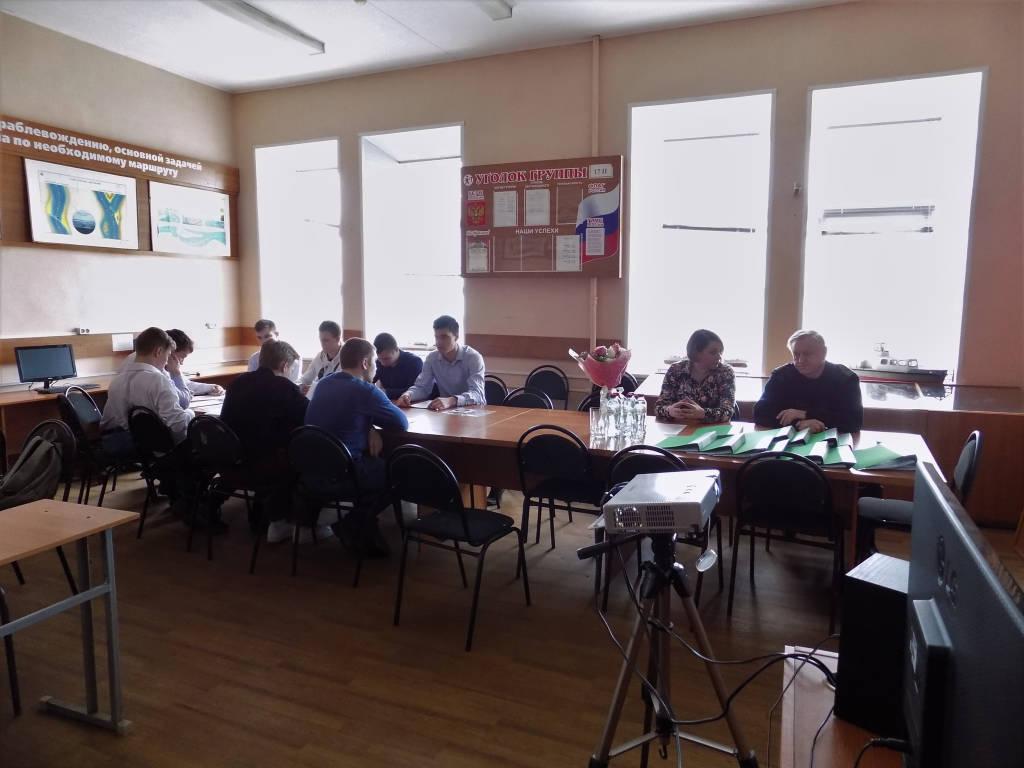 Защита курсовых работ группы 17ТС
