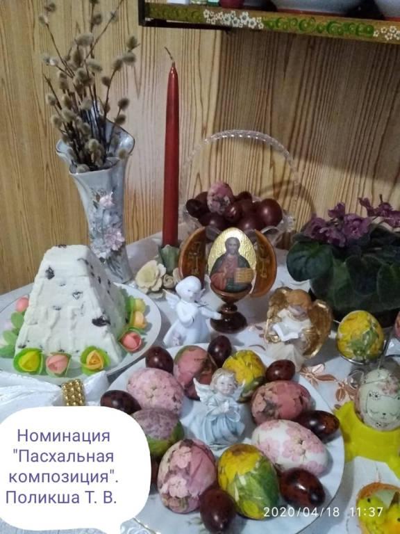 Творческий конкурс «Пасхальные радости».