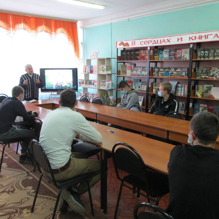 Встреча Грачева Г.С. со студентами.