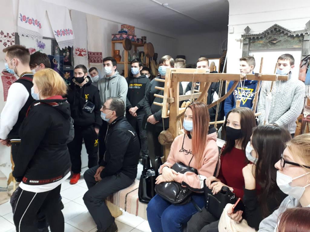 Посещение выставки «Школы ремесел»
