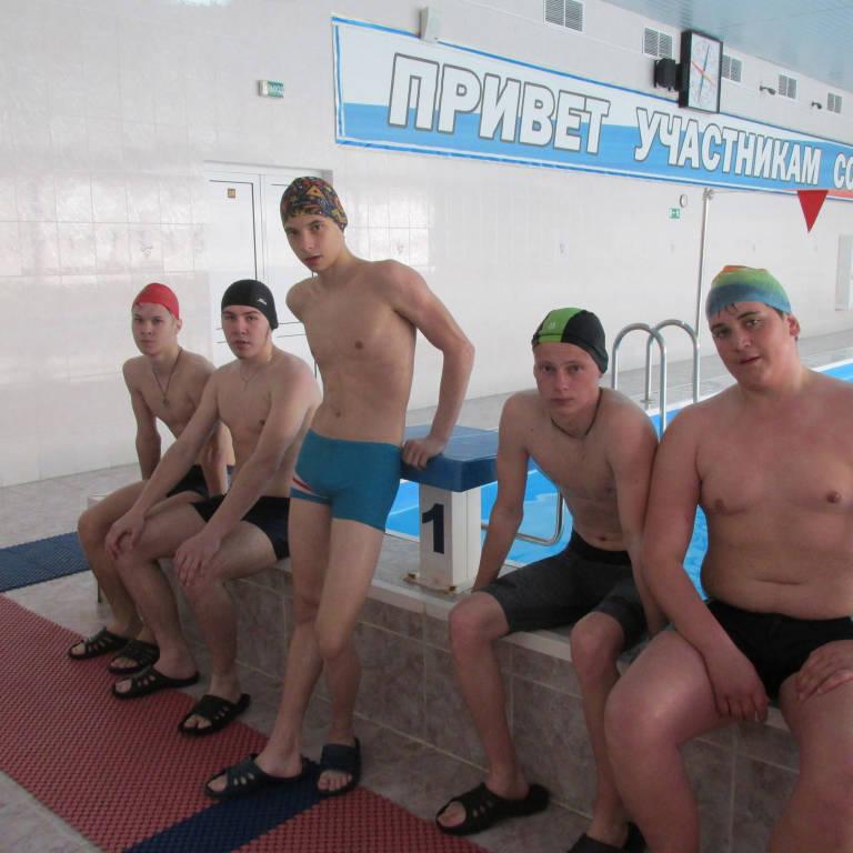 Студенты техникума сдавали нормы ВФСК ГТО по плаванию.
