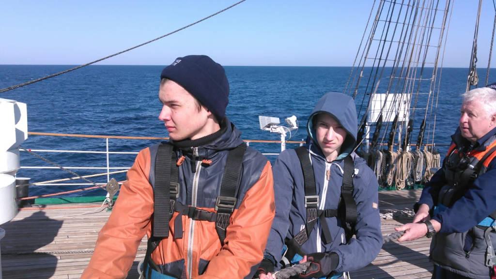 Герасин Дмитрий, студент 1 курса отделения «Судовождение»